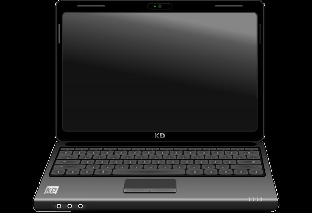 portable, carnet, ordinateur