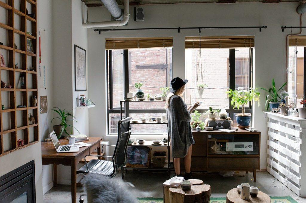 domicile, à l'intérieur, décor