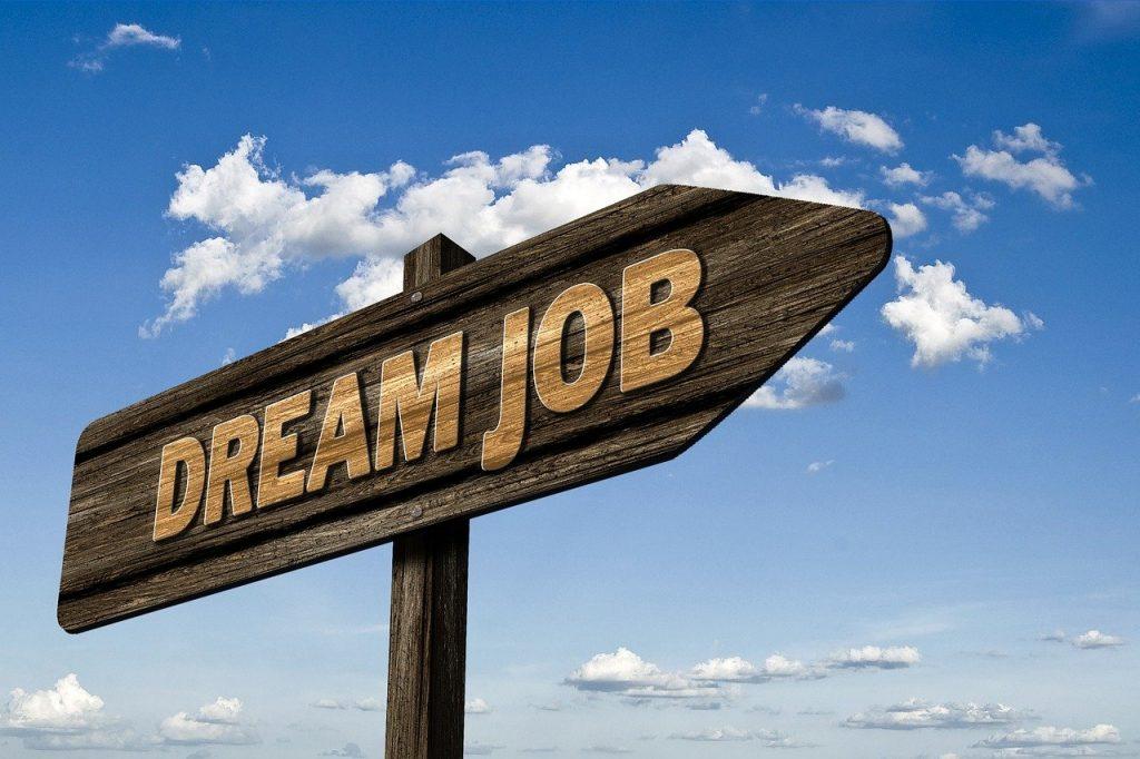 emploi de rêve, application, emploi
