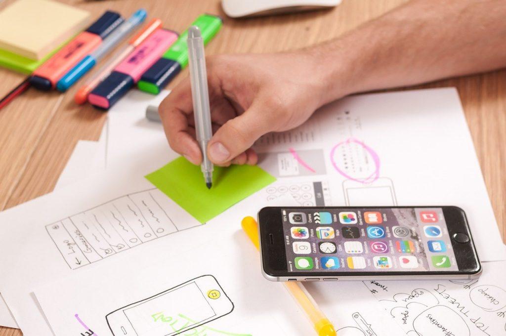 ux, conception, création de sites web