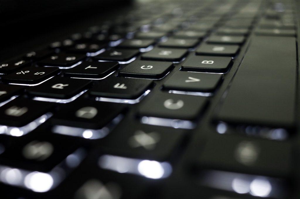 clavier, ordinateur, la technologie